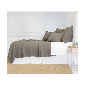 Pom Pom at Home Ojai Matelasse Pebble Coverlet - Lavender Fields