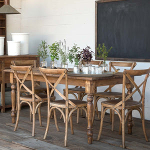 Old Elm Farm House Table - Lavender Fields