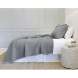 Pom Pom at Home Oslo Grey Denim Large Euro Pillow Sham