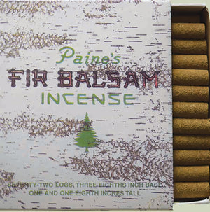 Fir Balsam Incense Logs