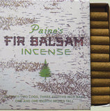 Fir Balsam Incense Logs - Lavender Fields