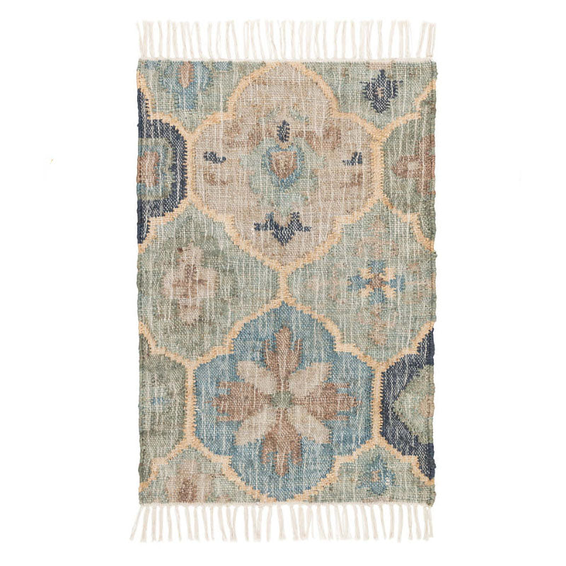 Dash and Albert Pali Blue Woven Jute Rug - Lavender Fields