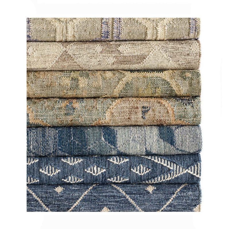 Dash and Albert Pali Evergreen Woven Jute Rug - Lavender Fields