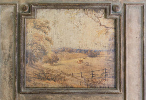French Country Pastoral Mirror - Lavender Fields