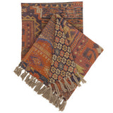 Pine Cone Hill Anatolia Linen Throw - Lavender Fields
