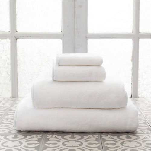 Pine Cone Hill Signature Banded White/White Towel
