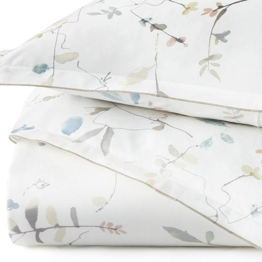 Peacock Alley Avery Percale Duvet Cover - Lavender Fields
