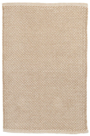 Dash and Albert Pebble Natural Indoor/Outdoor Rug - Lavender Fields