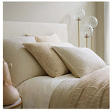 Pine Cone Hill Classic Hemstitch Ivory Sheet Set - Lavender Fields
