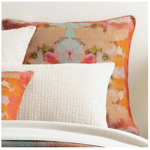Pine Cone Hill Kenly Linen Sham - Lavender Fields