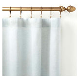Pine Cone Hill Lush Linen Sky Curtain Panel - Lavender Fields