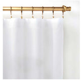 Pine Cone Hill Lush Linen White Curtain Panel
