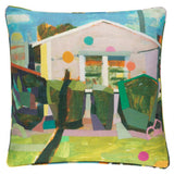 Pine Cone Hill Pink House Indoor/Outdoor Decorative Pillow - Lavender Fields