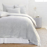 Pom Pom at Home Logan Duvet Cover Navy - Lavender Fields