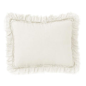 Pom Pom at Home Mathilde Cream Big Pillow with Insert
