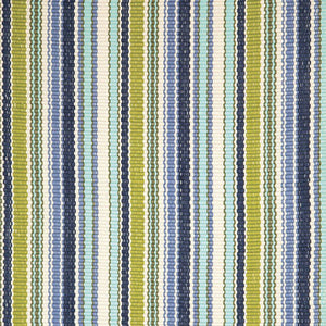 Dash and Albert Pond Stripe Indoor/Outdoor Rug - Lavender Fields