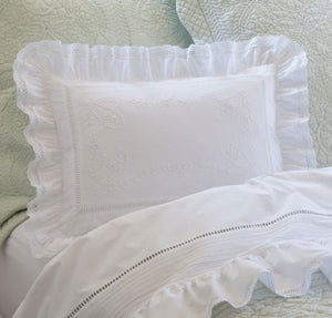 Taylor Linens Prairie Breakfast Pillow - Lavender Fields