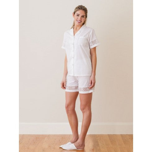 Jacaranda Living Pru 2-Piece Pajama Short Set