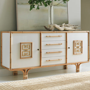 Somerset Bay Transitions Rattan Sideboard - Lavender Fields
