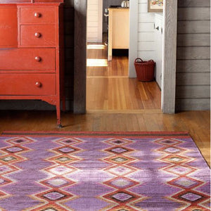 Dash and Albert Rhapsody Wool Woven Rug - Lavender Fields
