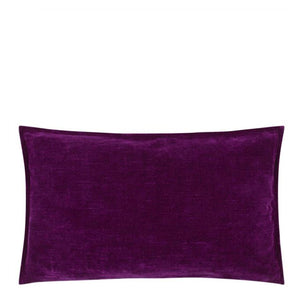 Designers Guild Rivoli Damson Decorative Pillow - Lavender Fields