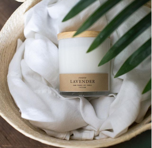 Roote Apothecary Collection - Lavender - Soy Candle - Lavender Fields