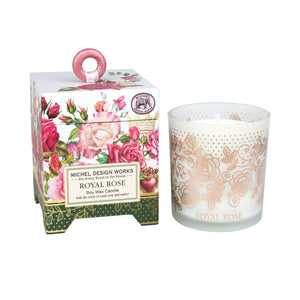 Royal Rose 6.5 oz. Soy Wax Candle - Lavender Fields