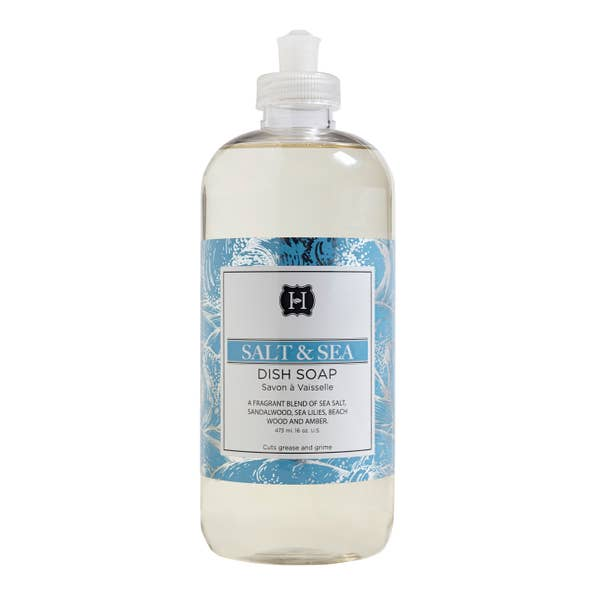 Salt and Sea Dish Soap - Lavender Fields