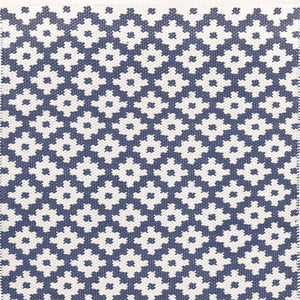 Dash and Albert Samode Denim/Ivory Indoor/Outdoor Rug - Lavender Fields