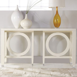 Somerset Bay Transitions Circle Console - Lavender Fields