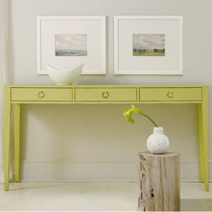 Somerset Bay Transitions Three Drawer Console
