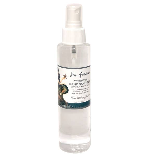 Sea Goddess Hand Sanitizer Spray 4 oz
