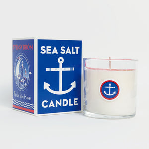 Swedish Dream Sea Salt Candle - Lavender Fields