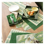 Pine Cone Hill Sequoia Evergreen Napkin - Set of 4 - Lavender Fields