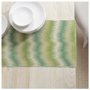 Pine Cone Hill Sequoia Evergreen Table Runner - Lavender Fields