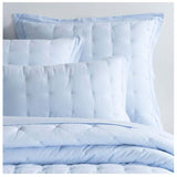 Pine Cone Hill Comfy Cotton Soft Blue Puff Sham - Lavender Fields