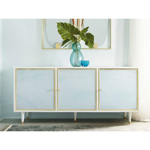 Somerset Bay Seaglass Three Door Credenza - Lavender Fields