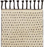 Dash and Albert Speck Black Hand Knotted Wool Rug - Lavender Fields