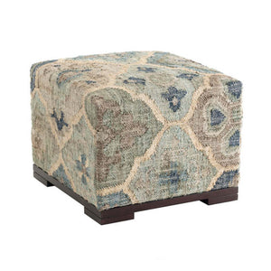Dash and Albert Pali Blue Rug Bench - Lavender Fields
