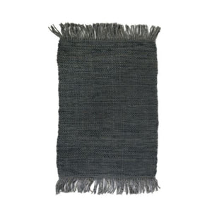 Pom Pom at Home Nile Jute Rug - Steel Blue