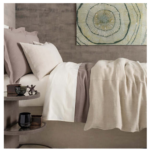 Pine Cone Hill Stone Washed Linen Natural Duvet Cover