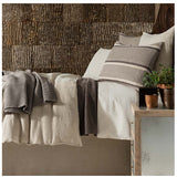 Pine Cone Hill Stone Washed Linen Natural Sham