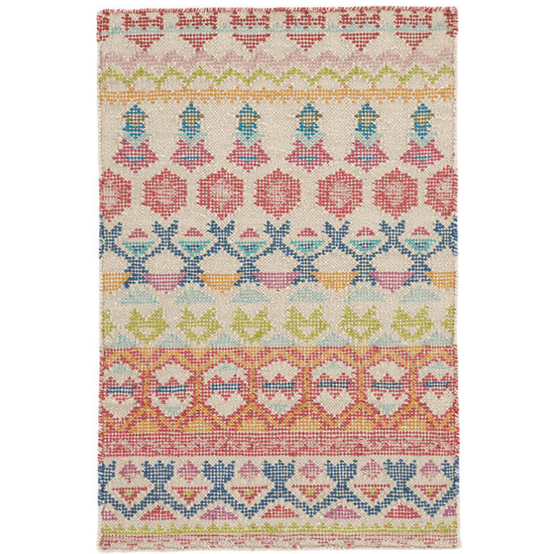 Dash and Albert Stony Brook Multi Loom Knotted Cotton Rug - Lavender Fields