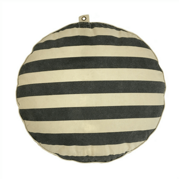 Sugarboo Designs Velveteen Rabbit Dog Bed with Stripes - Lavender Fields