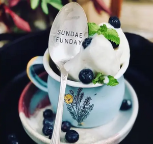 Sundae Funday Spoon - Lavender Fields