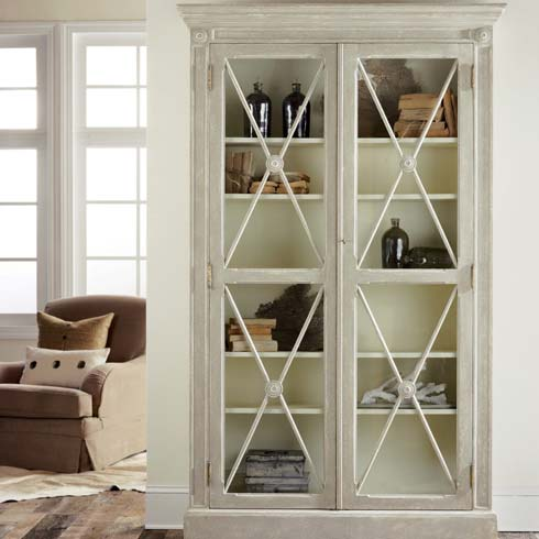 Swedish 2-Door Bookcase