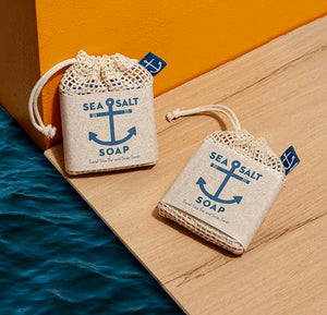 Swedish Dream Sea Salt Soap Travel Size Bar & Soap Saver