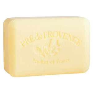 Pré de Provence Shea Enriched French Soap Bar - Sweet Lemon 250g - Lavender Fields