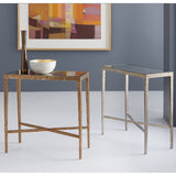 Modern History Texture Chairside Table