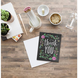 Lily & Val Thank You Card - Lavender Fields